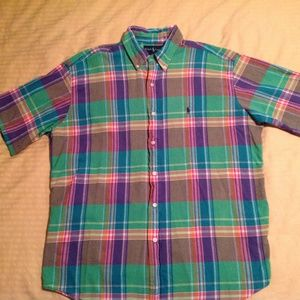 Ralph Lauren Men's Blake Short Sleeve Size Large E